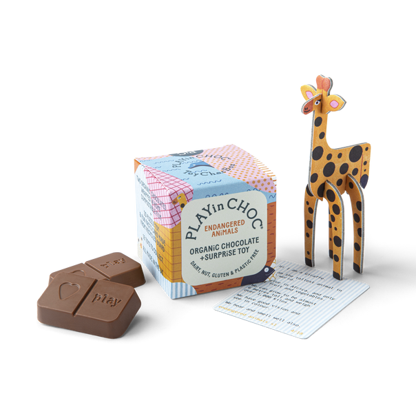 ToyChoc Box<br>(x18) ENDANGERED ANiMALS