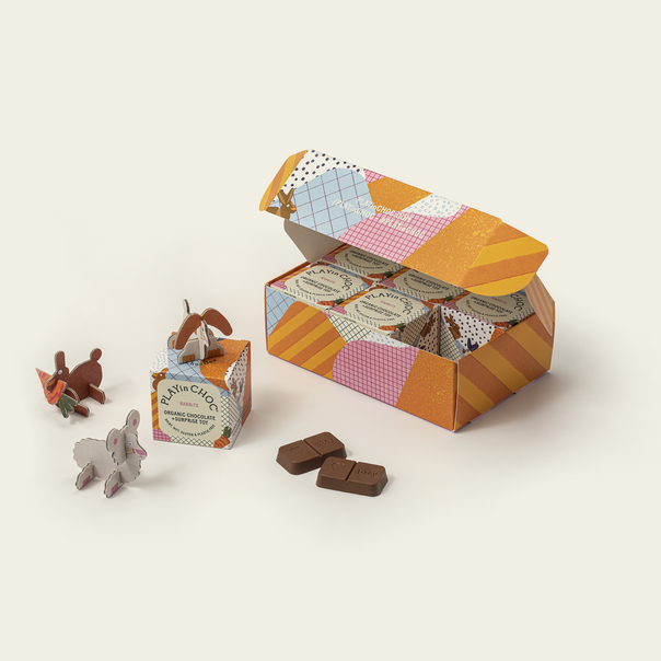 ToyChoc Box<br>6 RABBiTS<br>GiFT SET