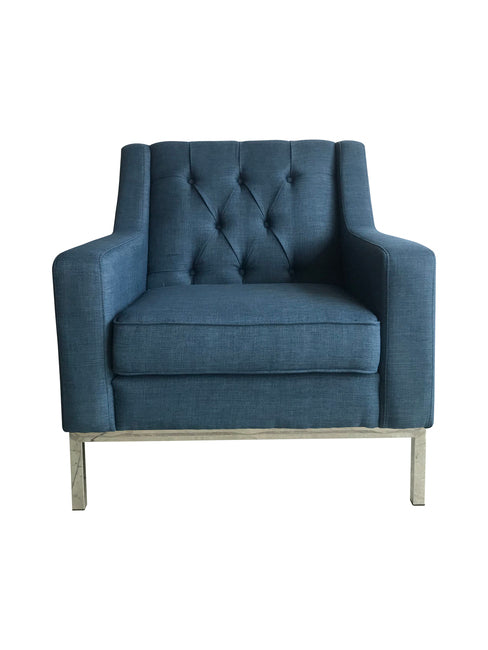 Montgomery Armchair Denim