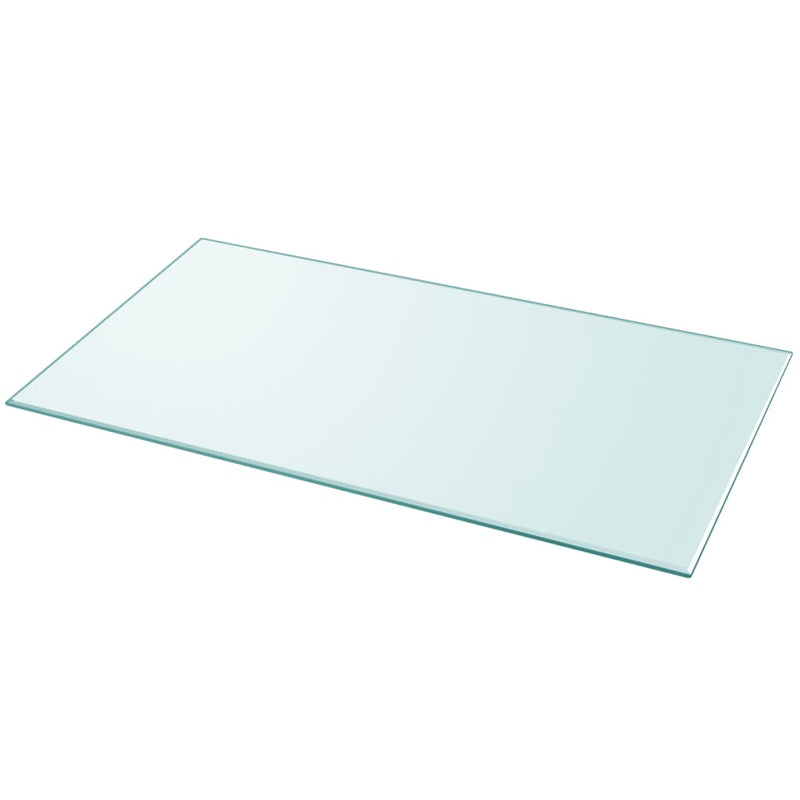Table Top Tempered Glass Rectangular 1200x650 mm