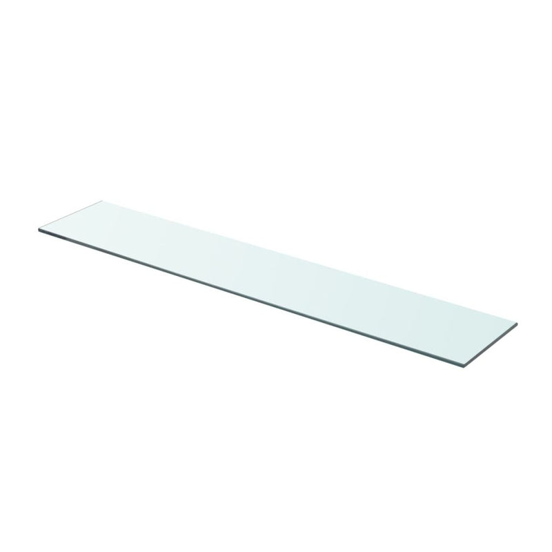 Shelf Panel Glass Clear 80x15 cm