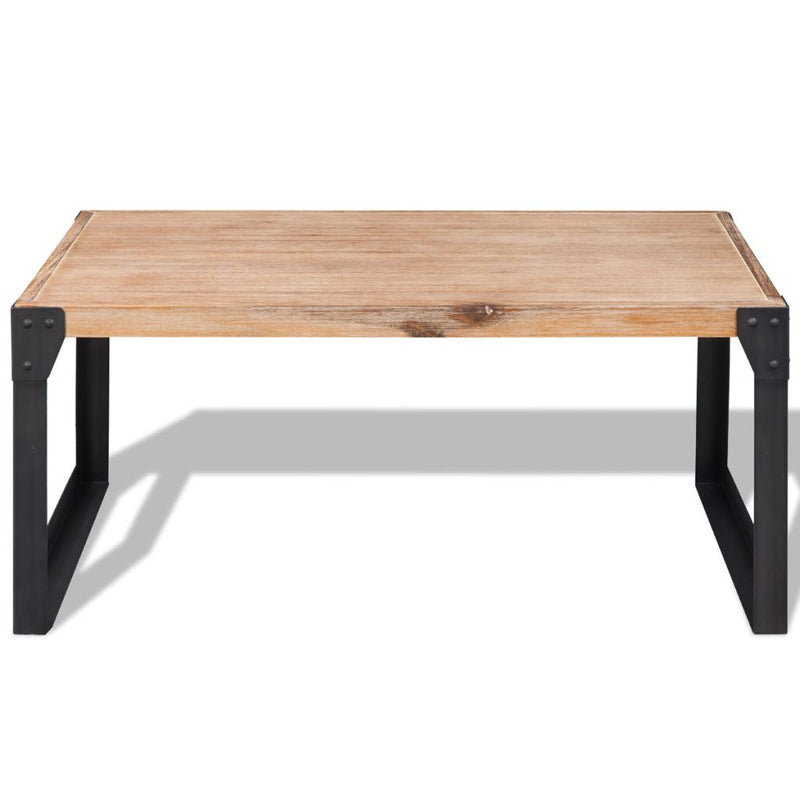 Coffee Table Solid Acacia Wood 100x60x45 cm