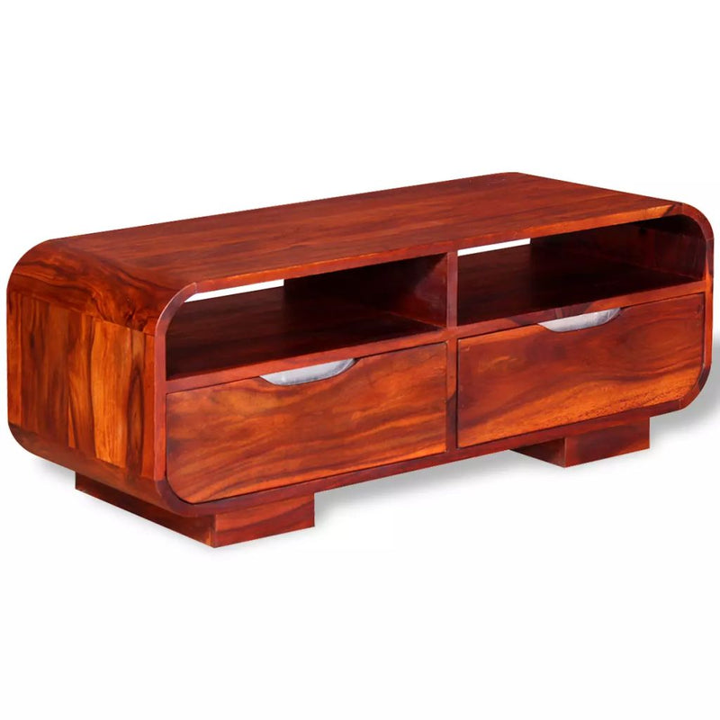 Coffee Table Solid Sheesham Wood 90x40x35 cm