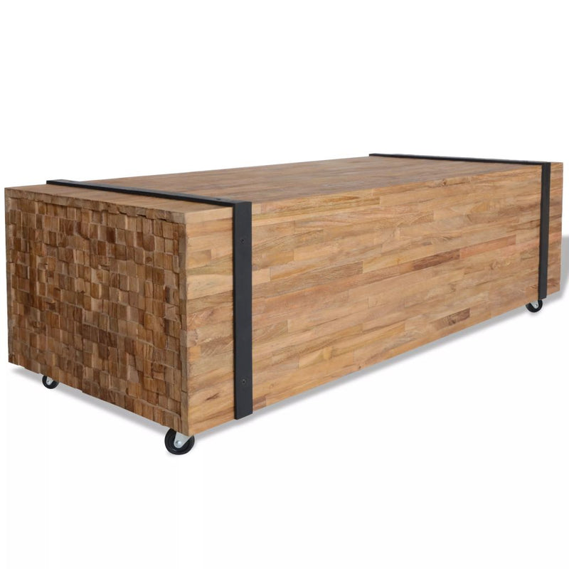 Coffee Table Teak 110x45x35 cm