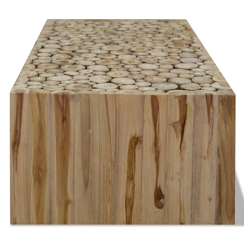 Coffee Table Genuine Teak 90x50x35 cm