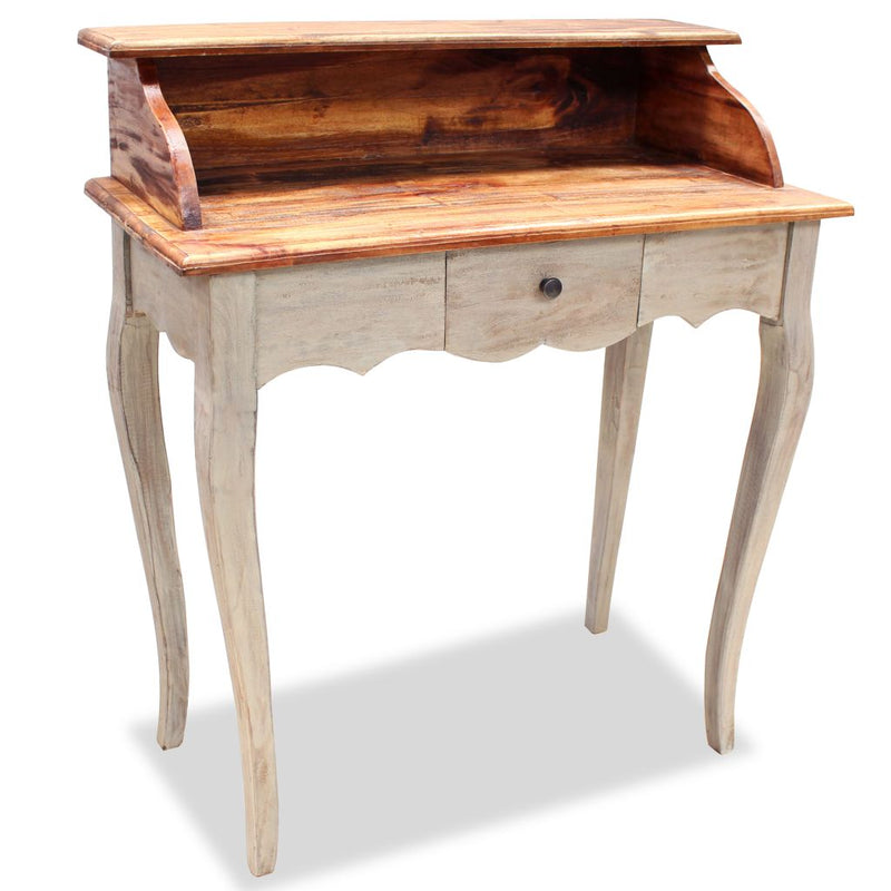 Writing Desk Solid Reclaimed Wood 80x40x92 cm
