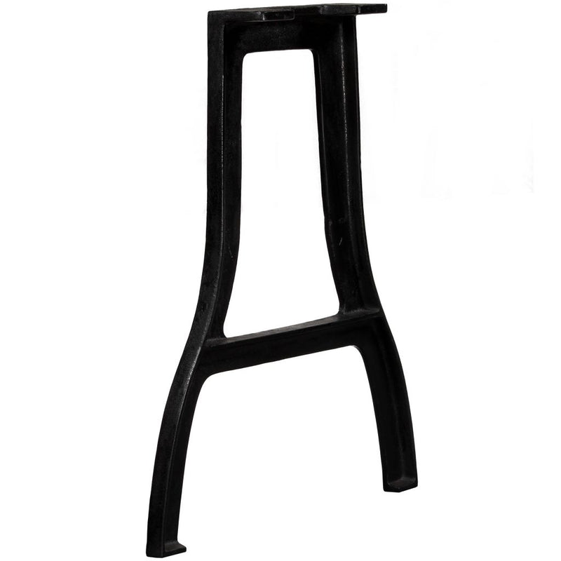 Dining Table Legs 2 pcs A-Frame Cast Iron
