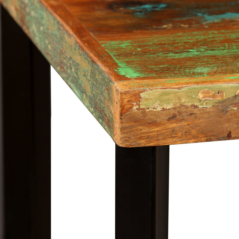 Bar Table 60x60x107 cm Solid Reclaimed Wood