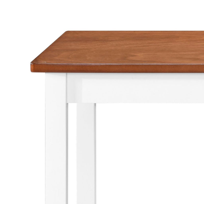 Bar Table Solid Wood 108x60x91 cm
