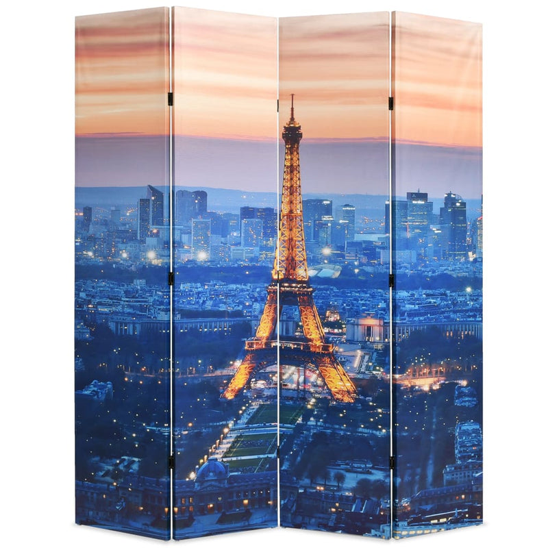 Folding Room Divider 160x180 cm Paris by Night