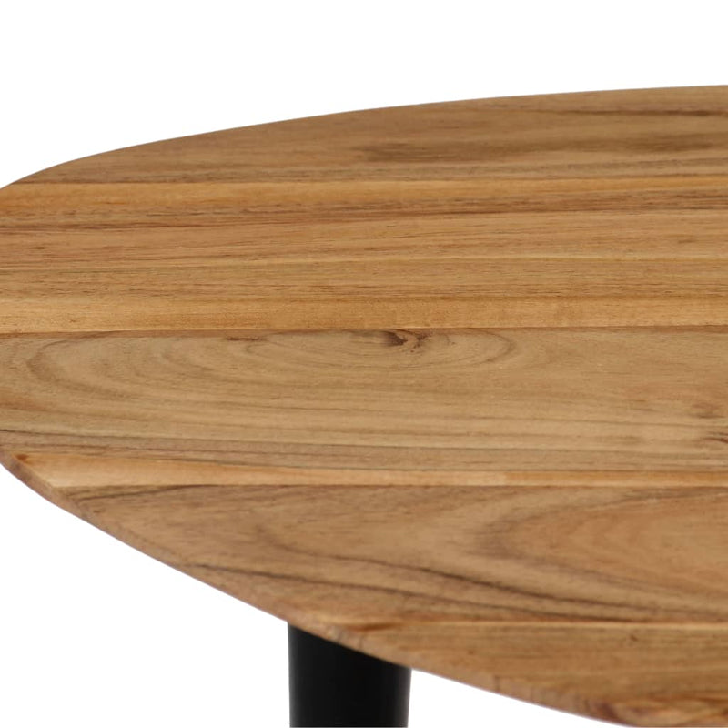 Coffee Table Set 3 Pieces Solid Acacia Wood
