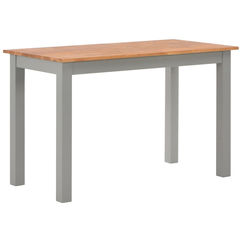 Dining Table 120x60x74 cm Solid Oak Wood