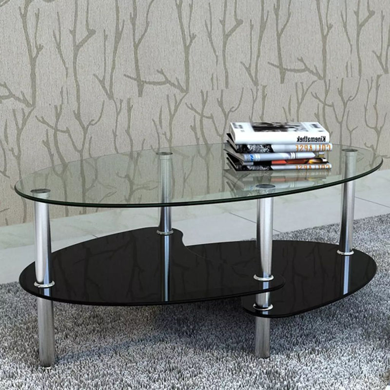 Coffee Table with Exclusive Design Black