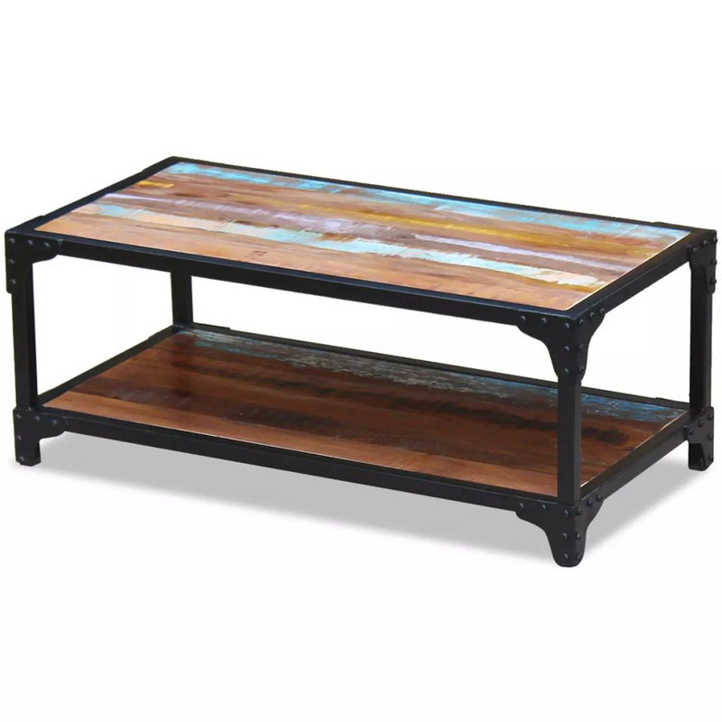 Coffee Table Solid Reclaimed Wood