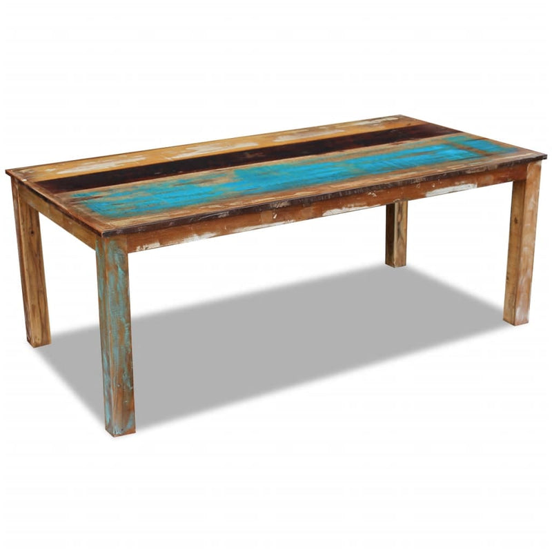 Dining Table Solid Reclaimed Wood 200x100x76 cm