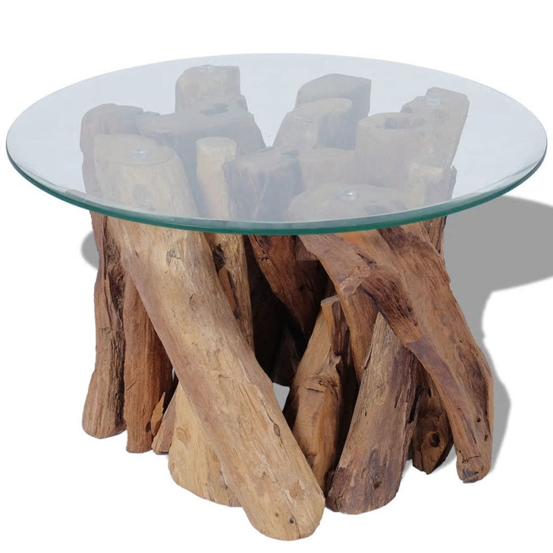 Coffee Table Solid Teak 60 cm