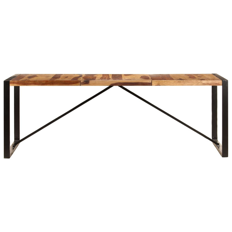 Dining Table 220x100x75 cm Solid Sheesham Wood