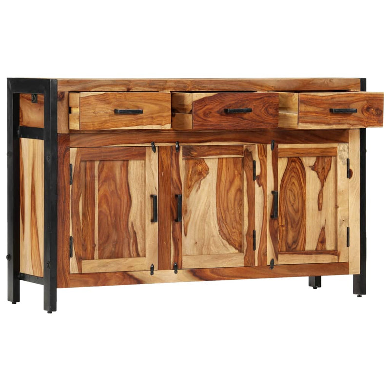 Sideboard 110x35x75 cm Solid Sheesham Wood