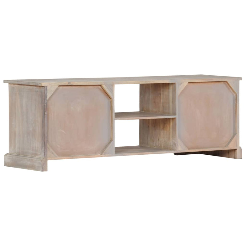 TV Cabinet 120x30x40 cm Solid Acacia Wood