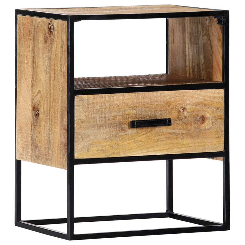 Nightstand 40x30x50 cm Solid Mango Wood