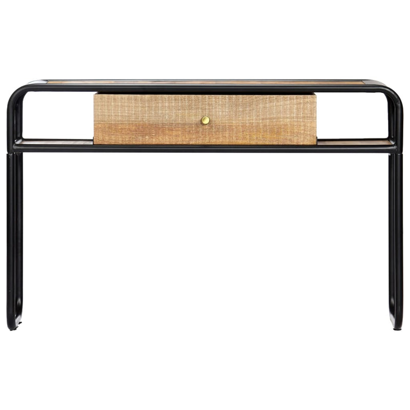 Console Table 118x30x75 cm Solid Mango Wood