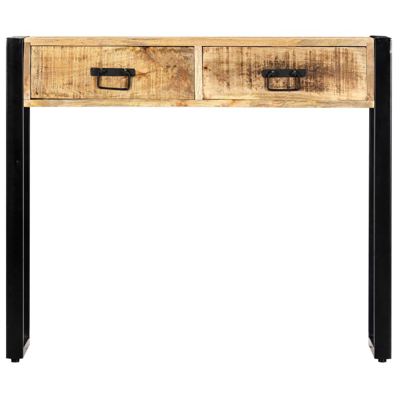 Console Table 90x30x75 cm Solid Mango Wood