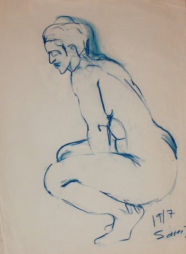 Crouching Female Figure