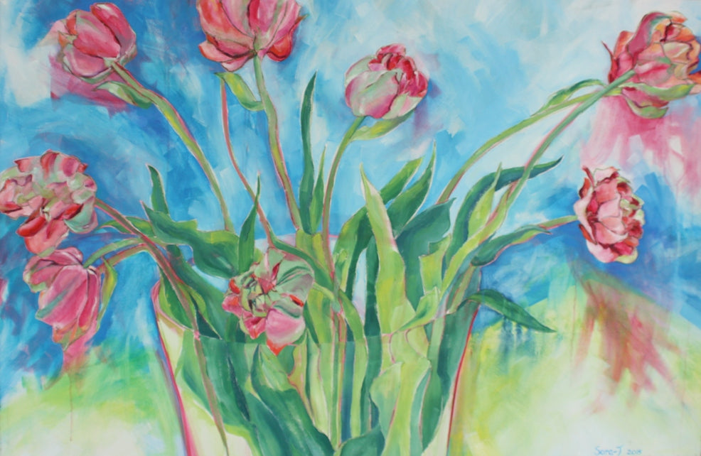 Rose Tulips II