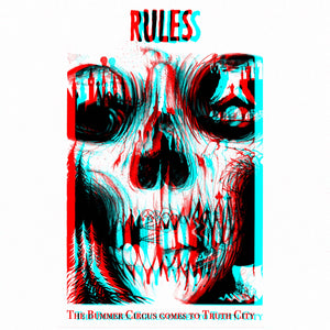 "PRE-ORDER!!!  RULES ""THE BUMMER CIRCUS COMES TO TRUTH CITY"" 12"" VINYL"