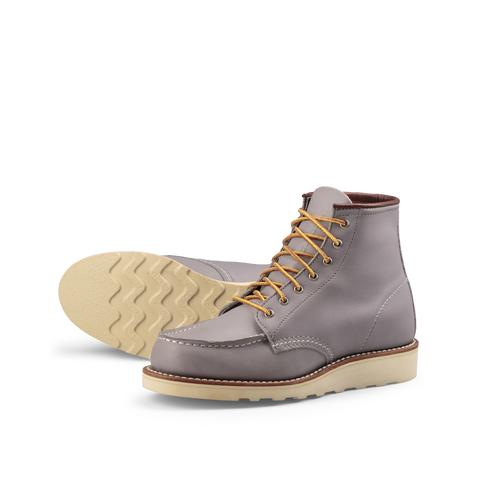 Red Wing Heritage Women Moc Toe 3378 garnite boundary left