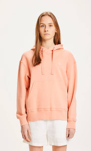 KNOWLEDGE COTTON DAPHNE DAMEN HOODIE SHRIMP