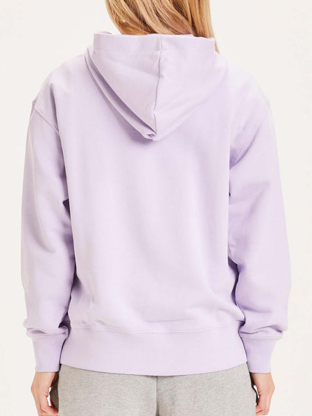 KNOWLEDGE COTTON DAPHNE DAMEN HOODIE PASTEL LILAC