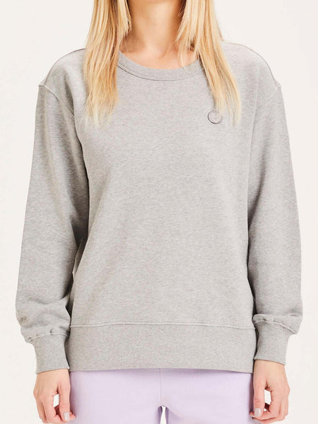 KNOWLEDGE COTTON DAPHNE DAMEN SWEATER GREY