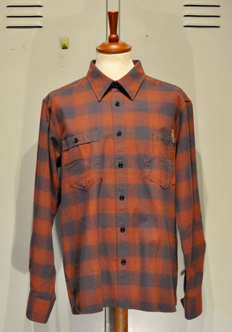 "Pike Brothers 1937 Roamer Shirt ""Leeroy Red"""
