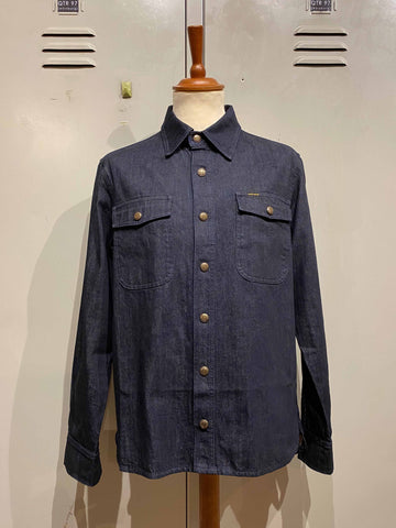 "PIKE BROTHERS ""1943 CPO SHIRT"" 12oz INDIGO"