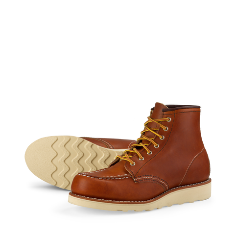 Red Wing Heritage Women Moc Toe 3375 left