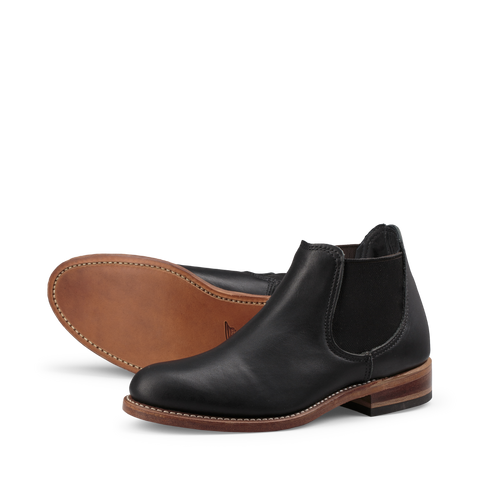 RED WING 3461 CHELSEA BLACK BOUNDARY