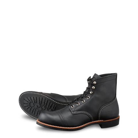 "RED WING 8084 Iron Ranger ""Black Harness"""