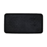 Sparrow Decor- (Black) Modern Rubber Outdoor Mat(16 X 30 Inch)