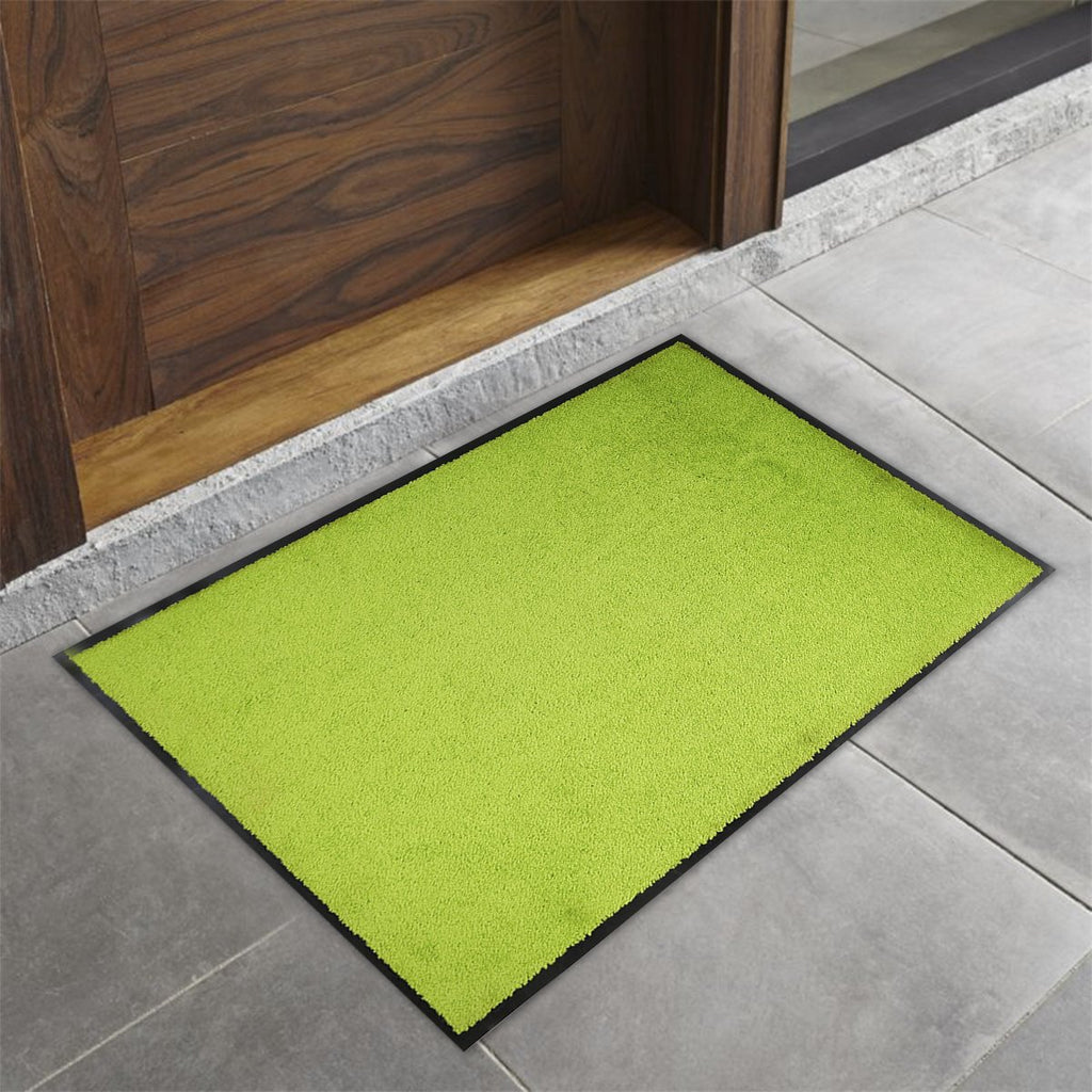 Sparrow Decor- (Green) Modern Synthetic Outdoor Mat(16 X 24 Inch)