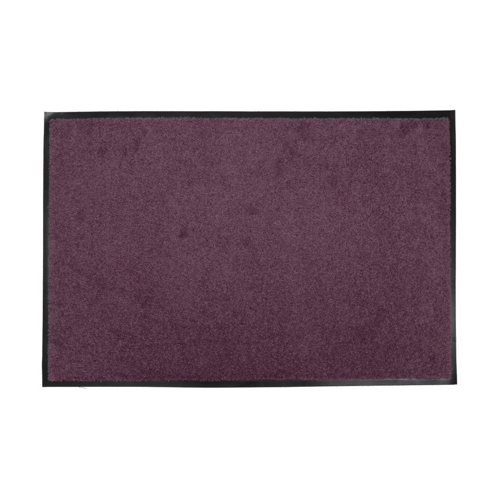 Sparrow Decor- (Purple) Modern Synthetic Outdoor Mat(24x36 Inch)