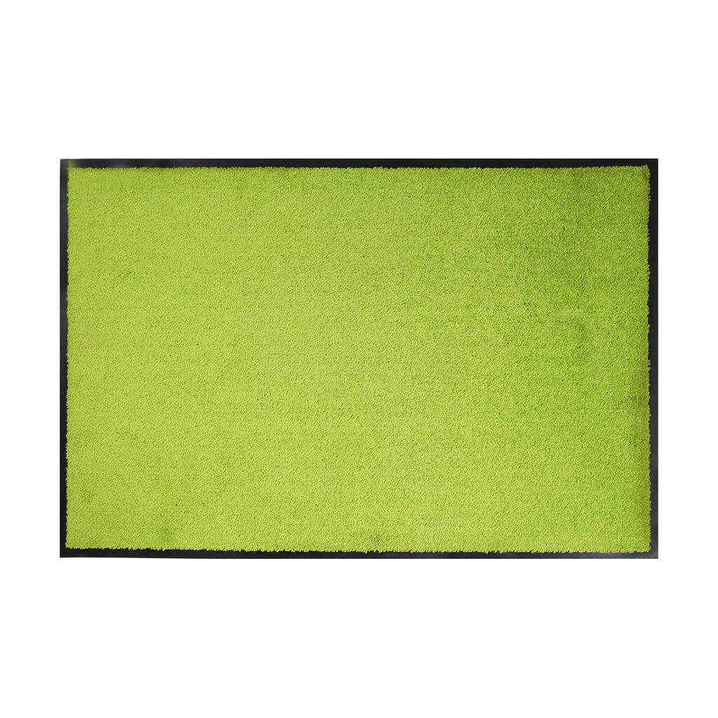 Sparrow Decor- (Parrot Green) Modern Synthetic Outdoor Mat(24x36 Inch)