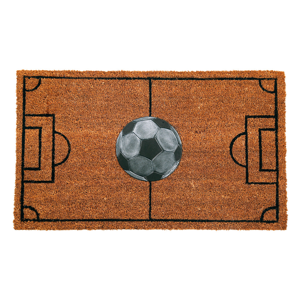 Sparrow Decor- (Brown) Modern Tufted Coir Outdoor Mat(18 X 27 Inch)