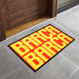 Disney- (Red/Yellow) Modern Synthetic Indoor Mat(40 X 60 Cm)