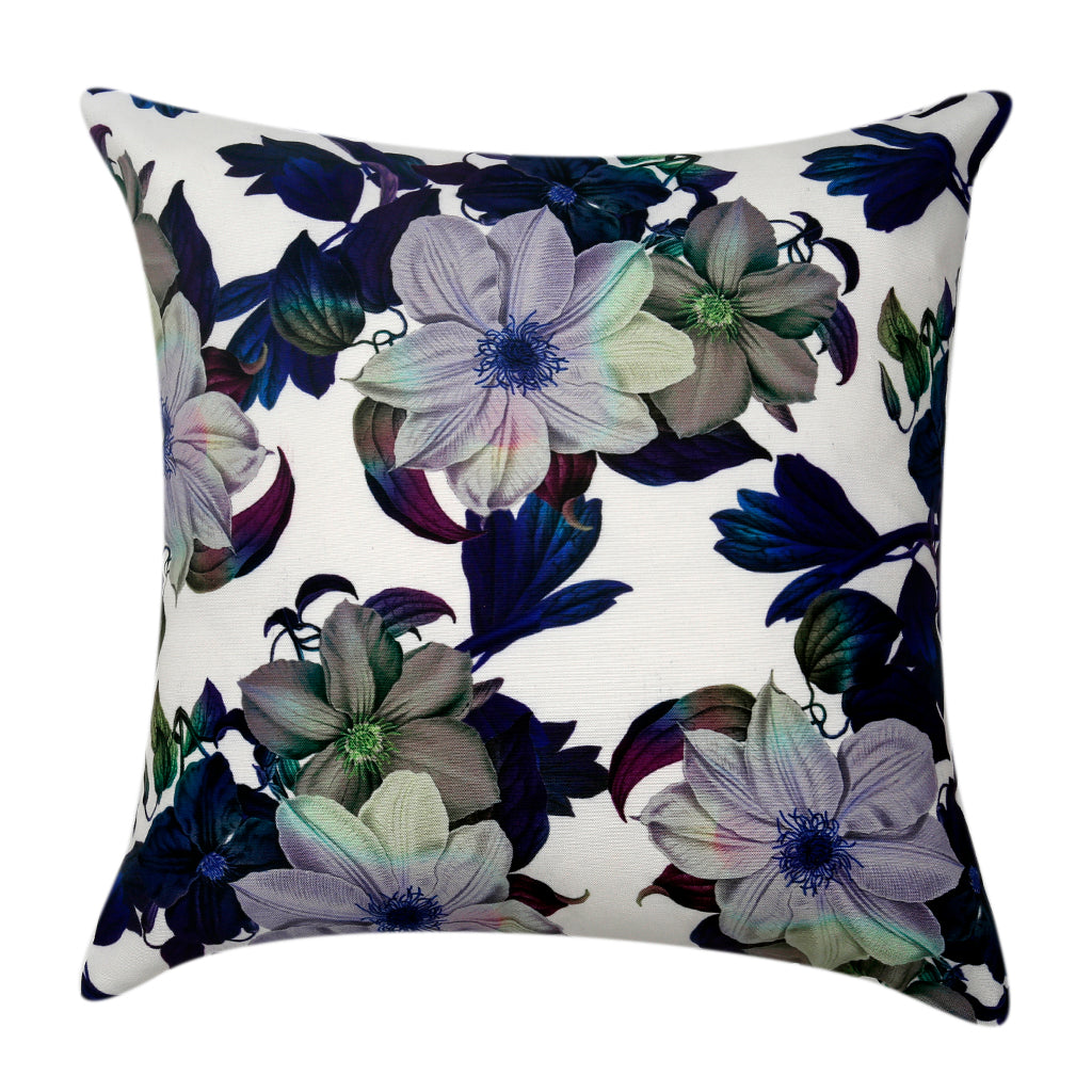 Polyester Flower Printed Cushion Cover(Multicolor)