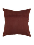 Water Filling Stitch-Silk Cushion Cover(Copper)