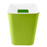 Spread Home (Green) Plain Dustbin
