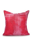 Velvet embroidery Cushion Cover(Pink)