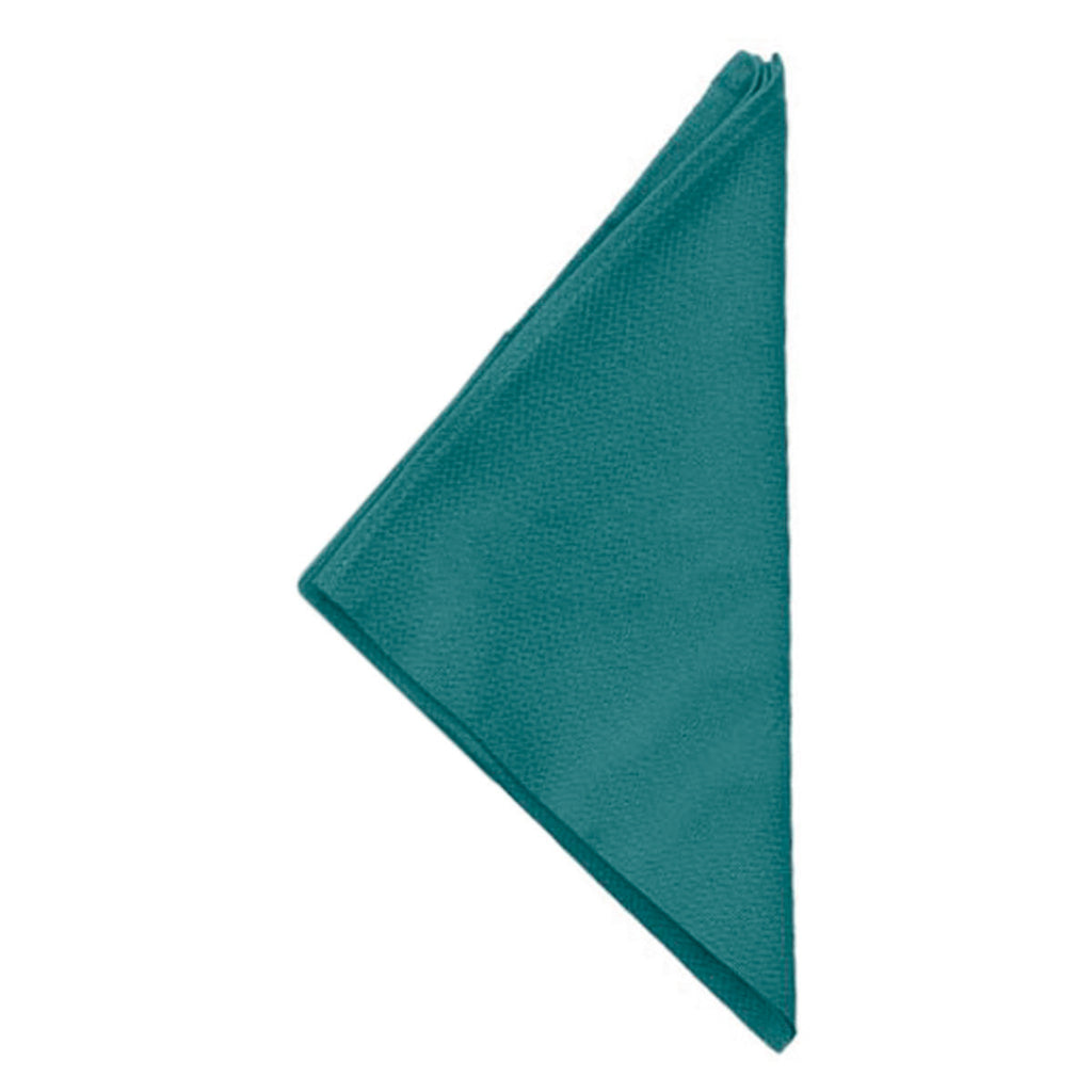 (Turquoise) Plain Cotton Napkin Set-8 Pcs(16 x 16 Inch)