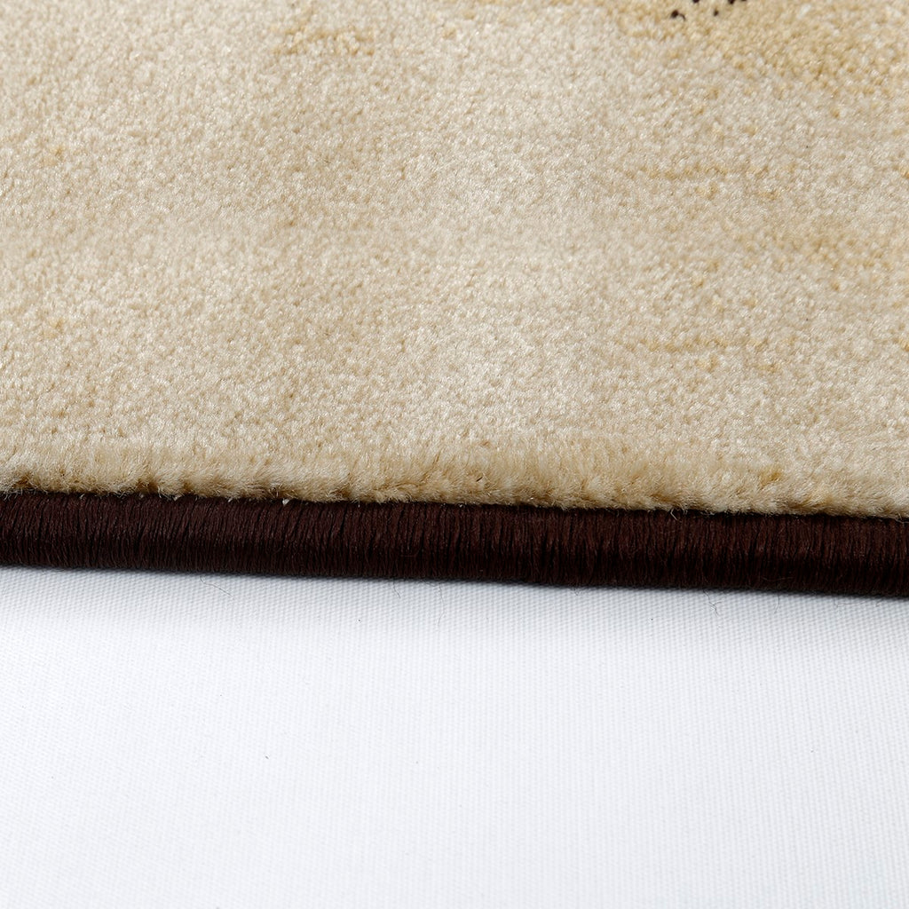 Aiva- (Brown) Modern Synthetic Carpets(80 X 150 Cm)